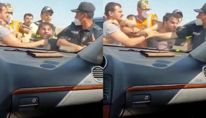 DİN-dən Kamil Zeynallının polislərin gözü qarşısında əlbəyaxa davası ilə bağlı AÇIQLAMA