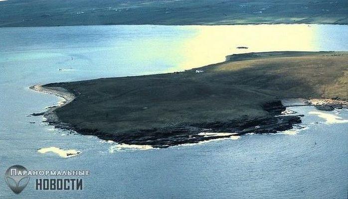 Bir adanın sirri