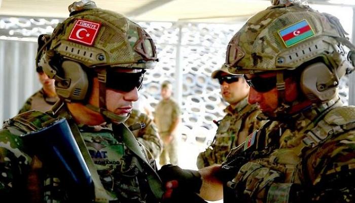 Bakıda Azərbaycan və Türkiyə hərbçiləri təlimə başladı