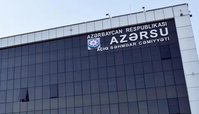 """""""Azərsu""""yun yığılmış zərəri 7 milyard manatı keçib"""
