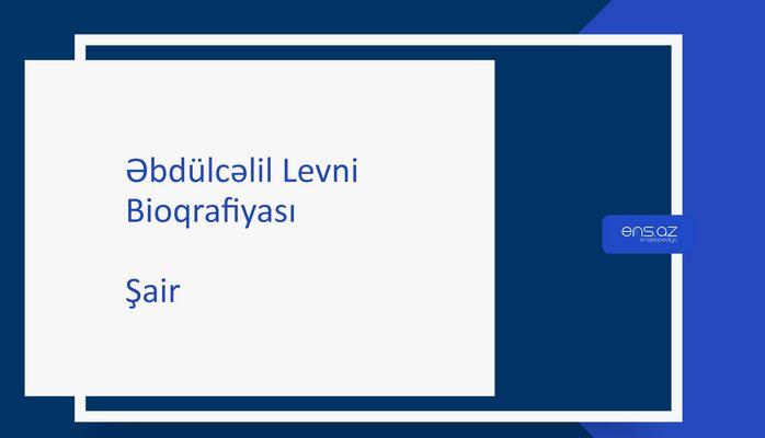 Əbdülcəlil Levni