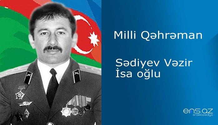 Vəzir Sədiyev İsa oğlu