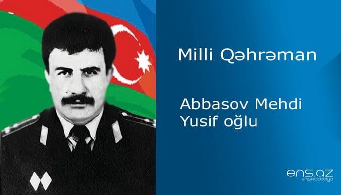 Mehdi Abbasov Yusif oğlu