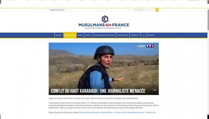 Fransanın xəbər portalları erməni lobbisinin İFŞA ETDİ