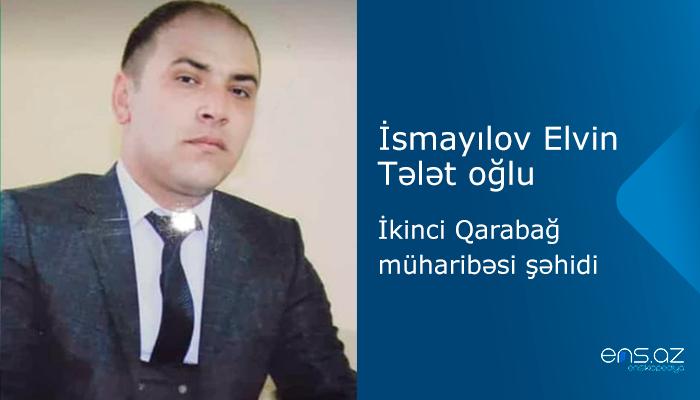 İsmayılov Elvin Tələt oğlu