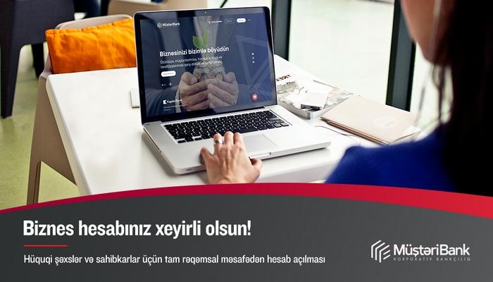 Kapital Bank tam rəqəmsal onlayn hesab açma xidmətini təqdim edir