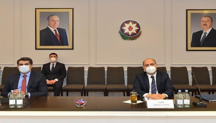 Министр образования Азербайджана встретился с послом Турции
