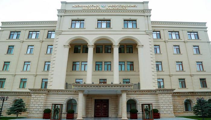 Минобороны: Наблюдается относительное спокойствие в направлении Товузского района