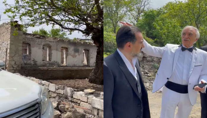 Polad Bülbüloğlu Şuşada ata evinin bərpası haqqında danışdı