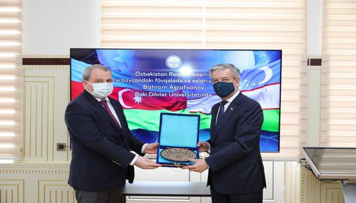 Посол Узбекистана посетил БГУ