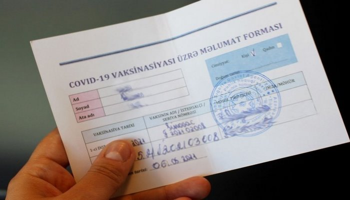 Qapalı məkanlara girənlər şəxsiyyət vəsiqəsini, yoxsa COVID-19 pasportunu təqdim etməlidir?
