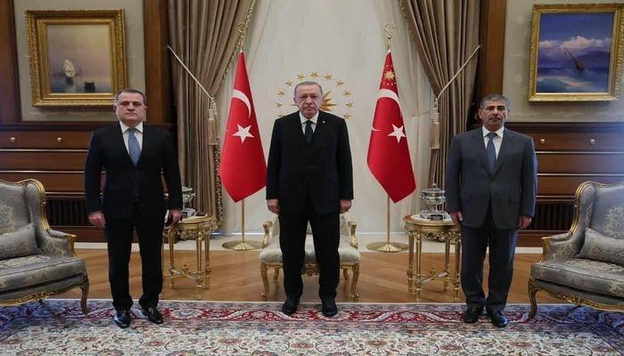 Реджеп Тайип Эрдоган принял Джейхуна Байрамова и Закира Гасанова