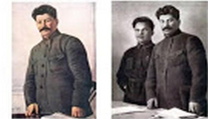 Sovet üslubunda fotoşop: diktatorun arzulamadığı adamları fotolardan necə təmizləyirdilər