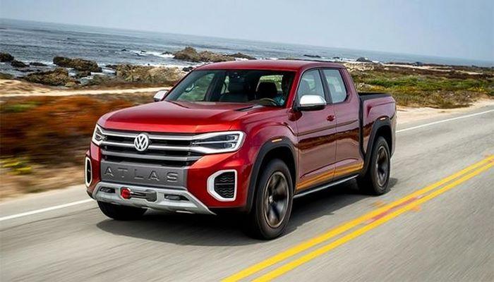 Volkswagen выпустит новый электрический пикап