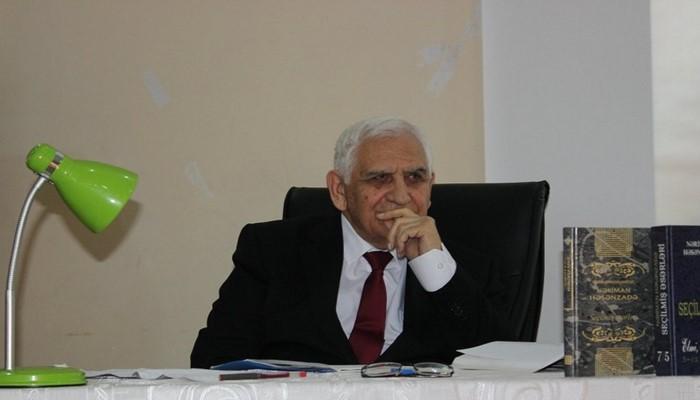 """Xalq şairi Nəriman Həsənzadə """"İstiqlal"""" ordeni ilə təltif edildi"""