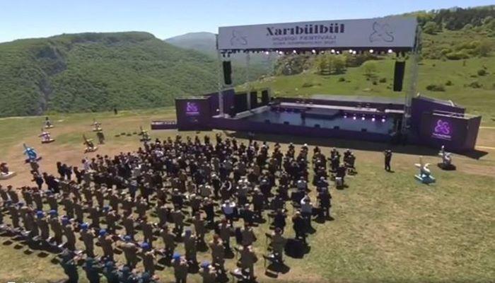 """""""Xarı bülbül"""" musiqi festivalı keçirilir - CANLI YAYIM"""